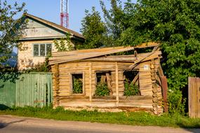 House Old Russia wood