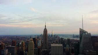 sunset Manhattan