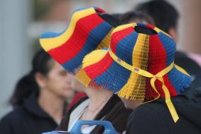 National Holidays Colombia colors hat