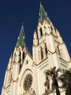 Cathedral Architecture Church white
