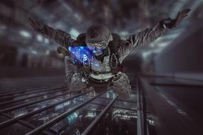 Special Forces Military Cyber man