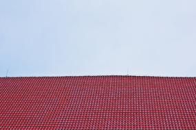 City Architecture Building red roof