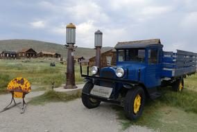 Bodie Ghost Town blue car