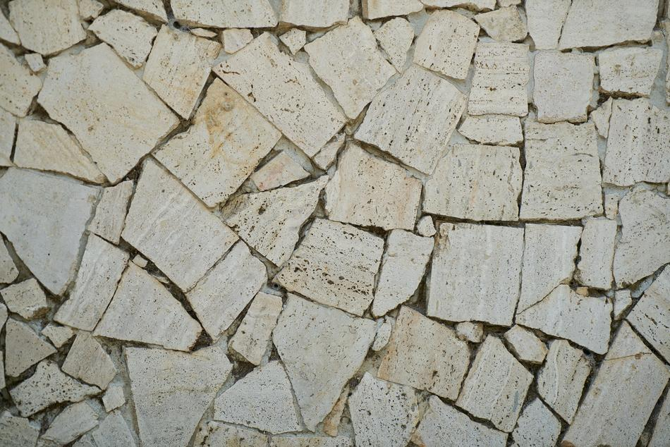 Beautiful texture of the stone wall with blocks