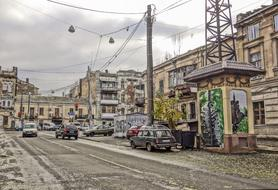 photo of a city street in Odessa