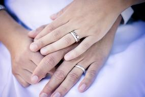 Rings Hands marriage