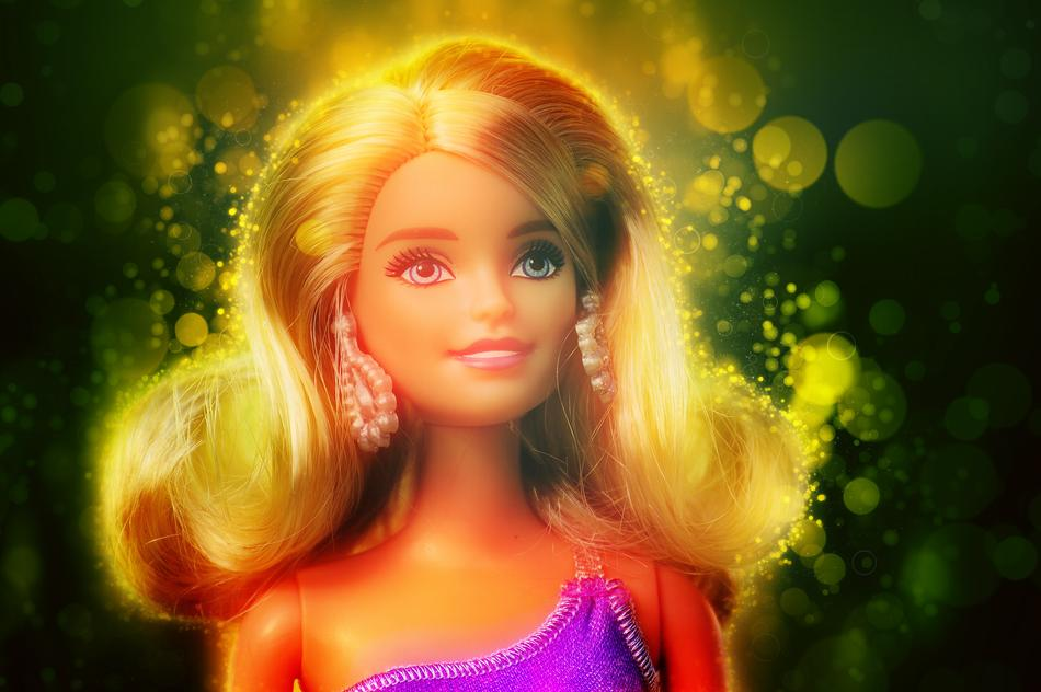 Barbie Doll Toy Girl lights