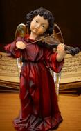 Angel Violin figurine